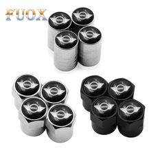 4pcs Car Wheel Tire Valves Tyre Air Caps case for BMW Mini Cooper