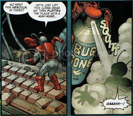 'Pool and Irredeemable Ant-Man