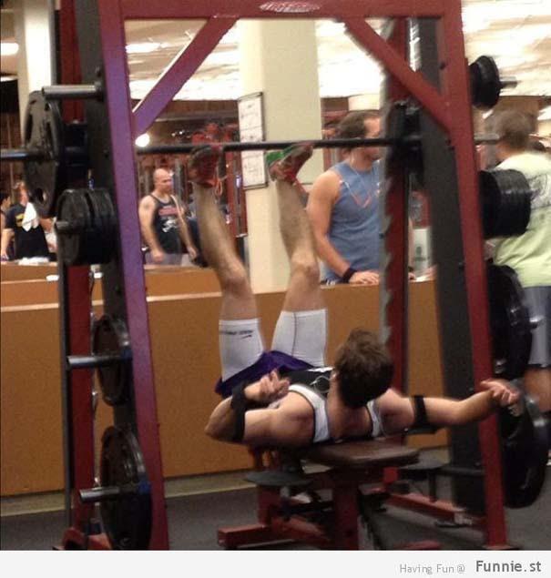 Απερίγραπτες στιγμές στο γυμναστήριο (2)