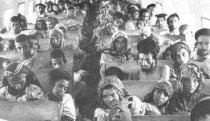 Juifs Yéménites au départ d'Aden vers l'entité sioniste