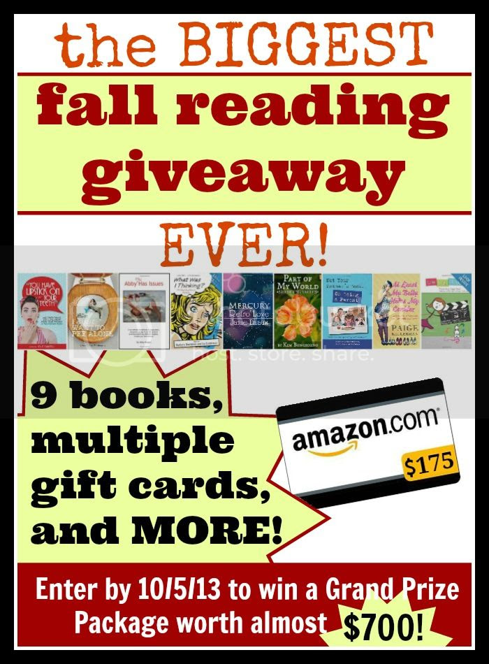 fall reading giveaway by Robyn Welling @RobynHTV
