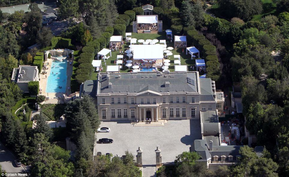 The 50,000-square-foot residence was sold by socialite Suzanne Saperstein, who had the mansion custom built in 2002 with her then husband, Texan billionaire David Saperstein