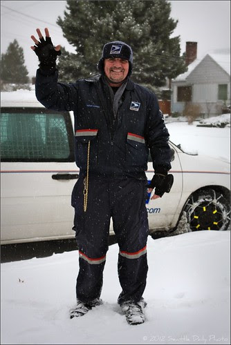 Snow Day Hero, Our Jolly Postman