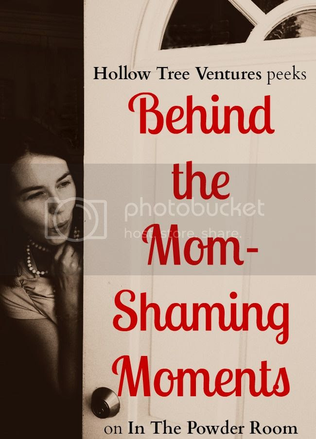 essay on the truth behind mom shaming by Robyn Welling @RobynHTV
