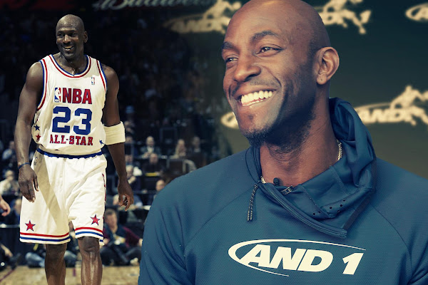 f89342839173 Kevin Garnett dishes on beating Michael Jordan in the legend s final  All-Star game