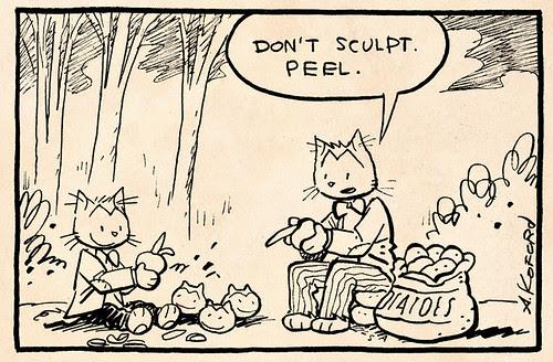 Laugh-Out-Loud Cats #1909 by Ape Lad