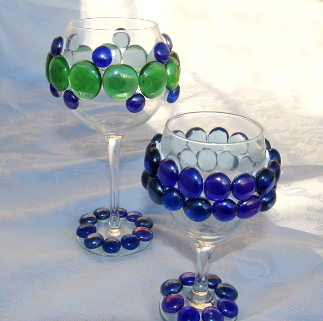 Kids Craft For Passover Bejeweled Wine Glasses And A Cup For