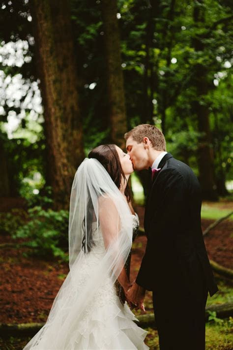 An Enchanted Forest Wedding in Canada   Luxe Mountain