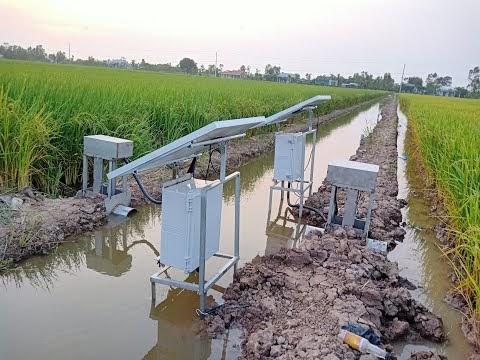 Hướng dẫn vận hành hệ thống điều khiển và giám sát trồng lúa công nghệ cao
