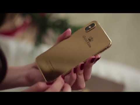 iPhone X phiên bản đặc biệt Gold Elite mạ vàng 24K xuất hiện tại Việt Nam