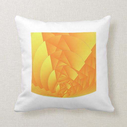Solar Bubble Throw Pillow