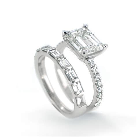 Emerald Cut Diamond Engagement Ring   Haywards of Hong Kong