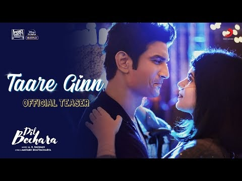 TAARE GINN LYRICS – DIL BECHARA