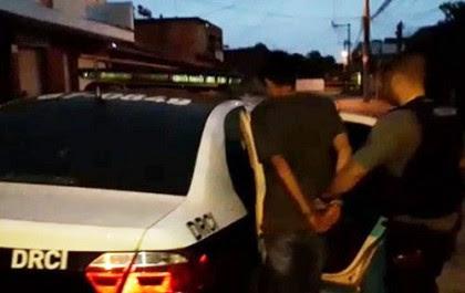 Jovem preso no RJ confessou ter feito pelo menos 30 vítimas (Foto: Divulgação)
