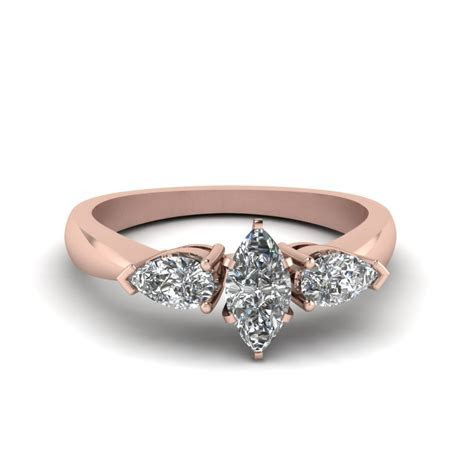 Marquise Cut Engagement Rings  Fascinating Diamonds