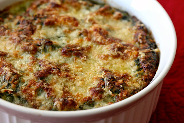 Spinach Gratin from Karen's Kitchen Stories