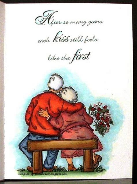 First Kiss, Happy 69th Wedding Anniversary   inside of