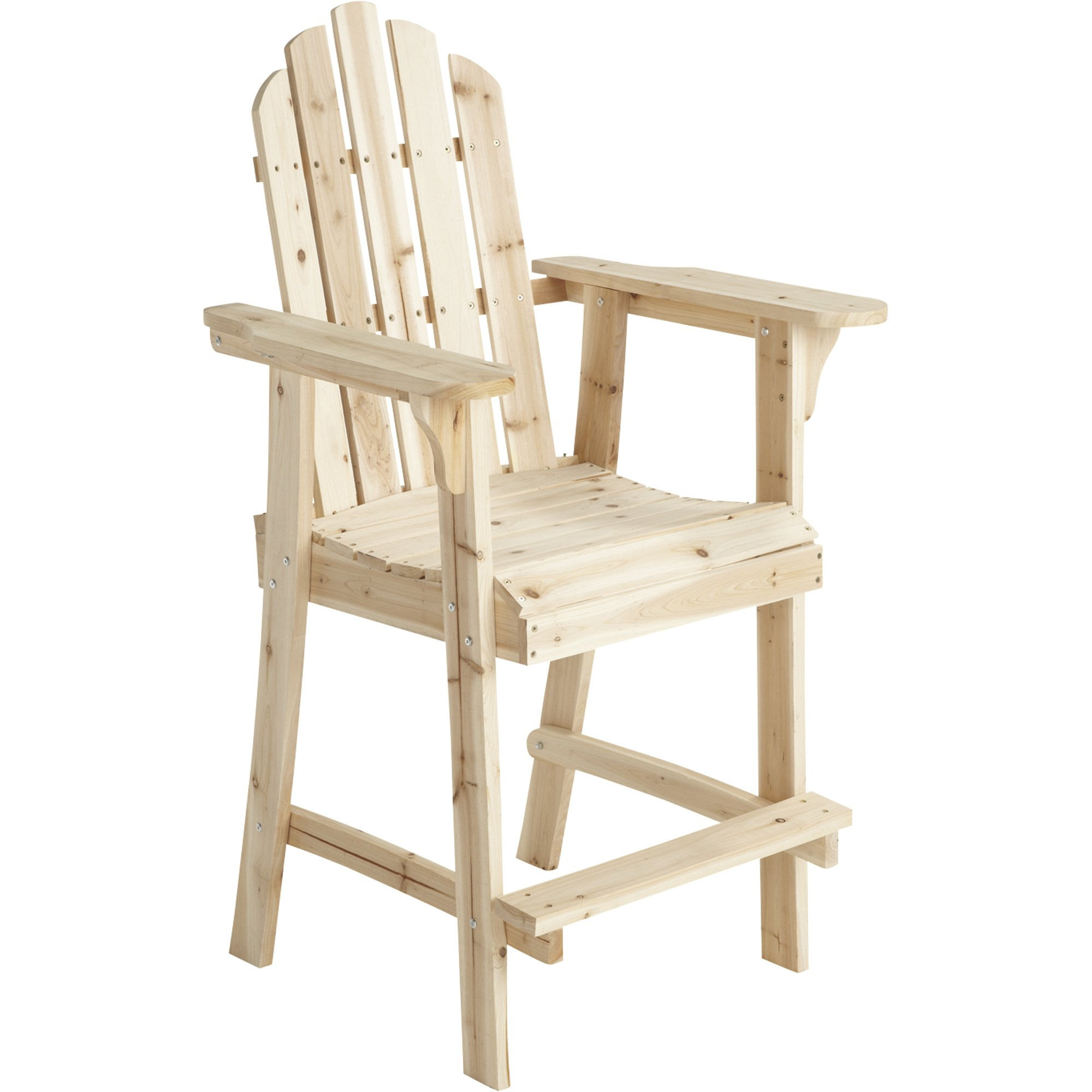 Stonegate Designs Tall Fir Wood Adirondack Chair 30in L X 25 1 2in