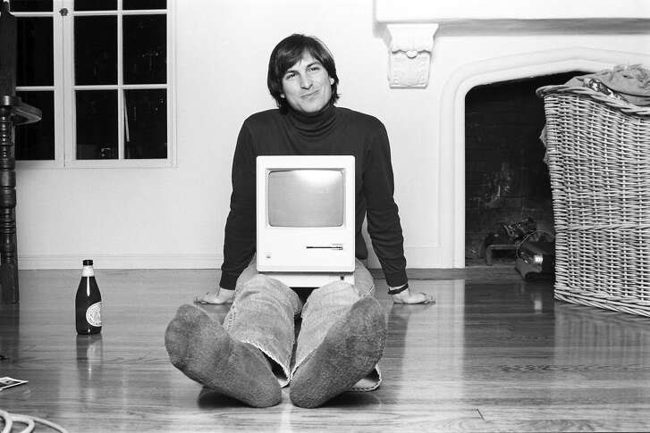 "Steve Jobs in the new documentary ""Steve Jobs: The Man in the Machine,"" directed by Alex Gibney."