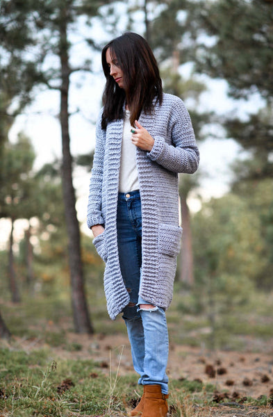 Crochet Kit - Autumn Duster Cardigan