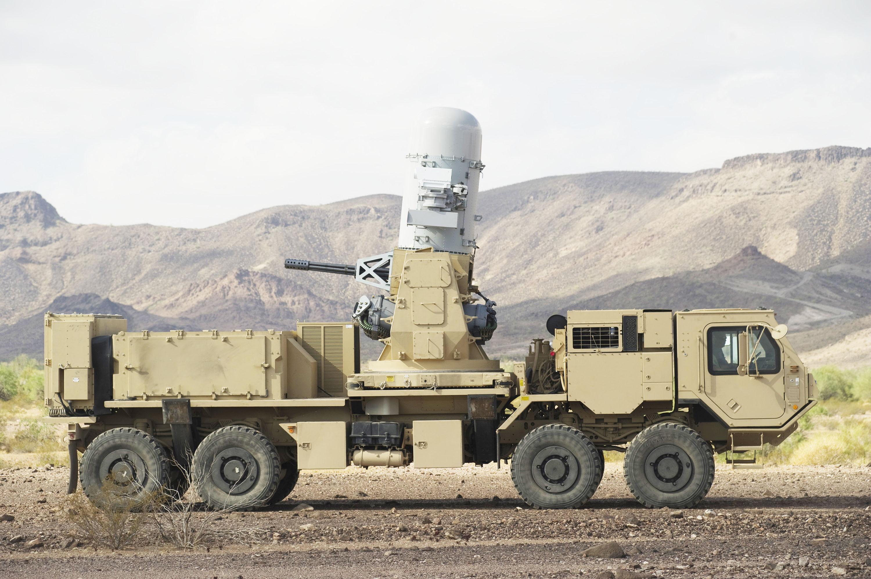 Resultado de la imagen para Phalanx Counter-Rocket, Artillería, Mortero (C-RAM