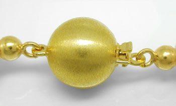 Foto 3, 9mm Zuchtperlen-Kette Top-Lüster 14K Goldschloss Luxus!, S8538