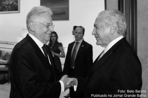 Ex-presidente Fernando Henrique Cardoso (FHC) e presidente Michel Temer. Artigo aborda necessidade de antecipar eleição para presidente da República.