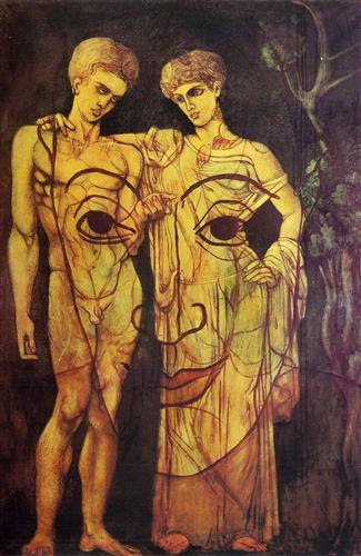 Adam and Eve - Francis Picabia