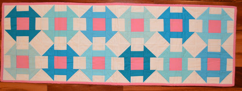 For the Love of Solids Swap - table runner from {Safeih}