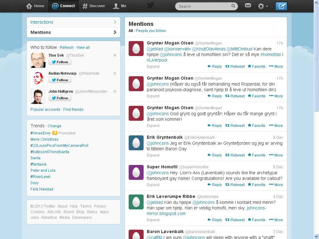mer nettmobbing twitter