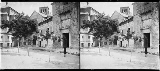 Palacio de Fuensalida en junio de 1927. Fotografía de Albert Oliveras i Folch. © Arxiu Fotogràfic de Catalunya. Centre Excursionista de Catalunya