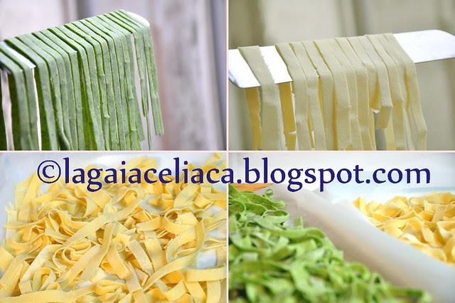 tagliatelle al ragù -  the making of