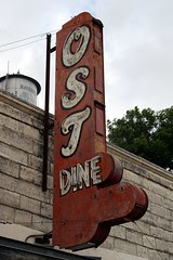 ost restaurant sign