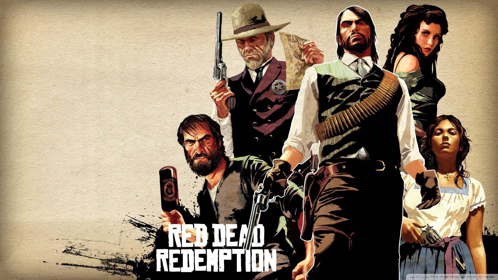 Red Dead Redemption Ultra Hd Desktop Background Wallpaper For 4k