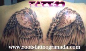 Alas En La Espalda Roots Tattoo Granada