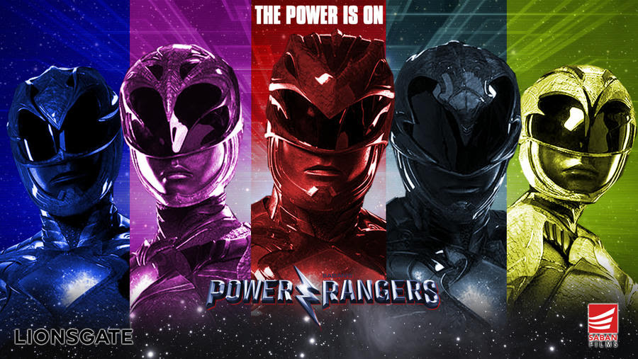 Resultado de imagem para Power Rangers 2017 posters