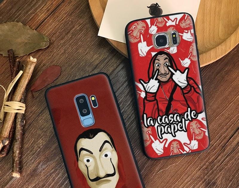 9647fbf361 La Casa De Papel dinero robo Coque De silicona suave TPU cubierta De La  cáscara De La caja del teléfono para Samsung Galaxy S7 borde S8 s9 Plus  Nota 8 9 ...