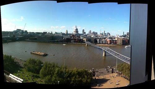 Vista desde la 7ª planta de la Tate Modern