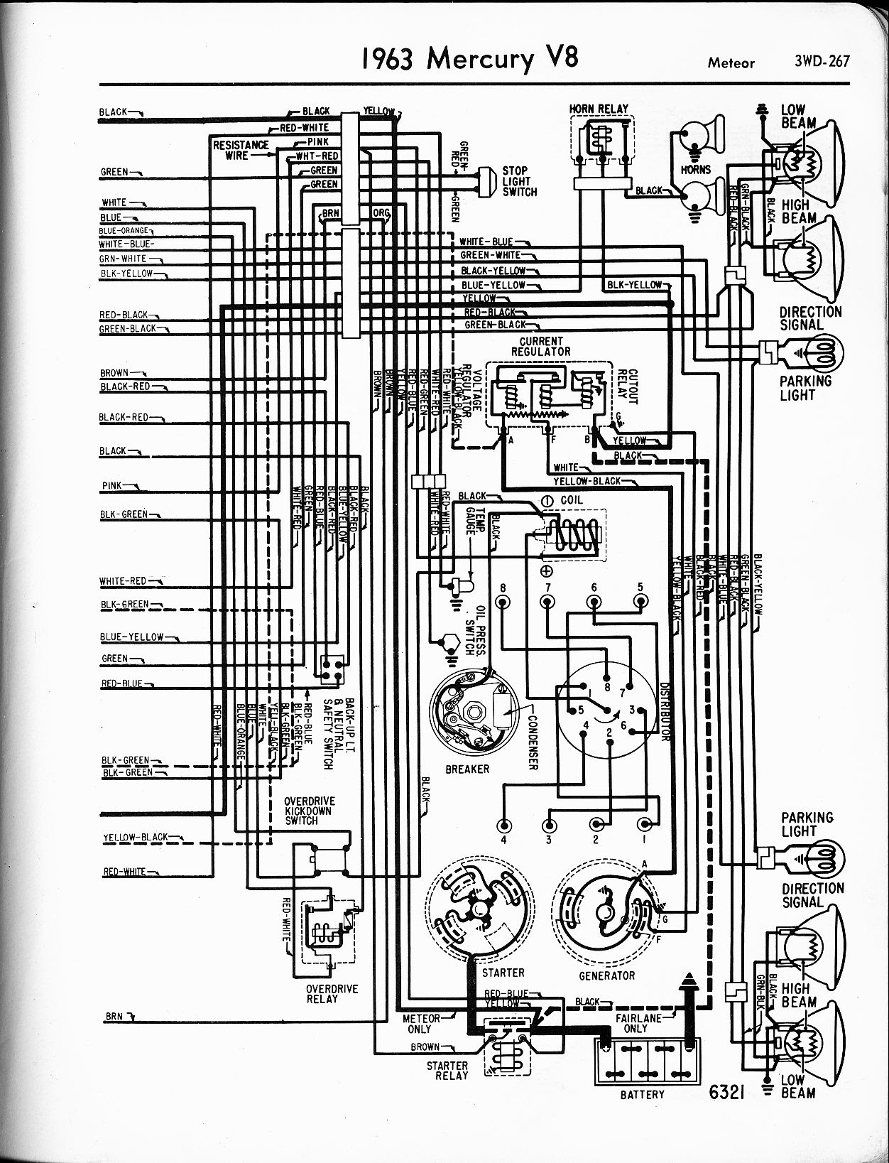 62 Chevy Headlight Switch Diagram Wiring Schematic