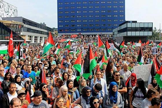 Spuiplein protest Gaza