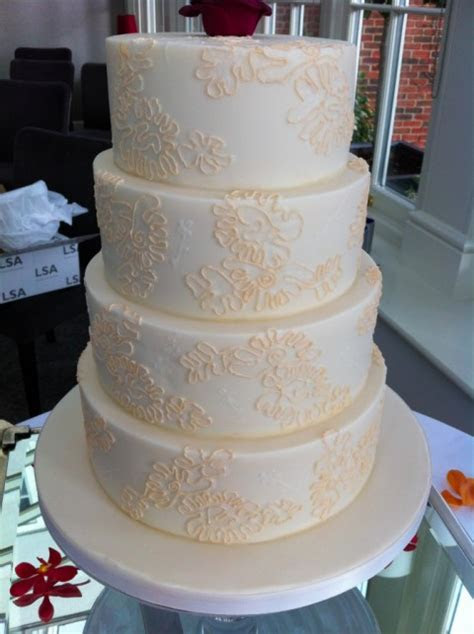 it's all in the details: creating a lace effect wedding
