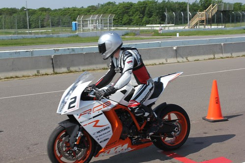Track Day at BIR with KTM