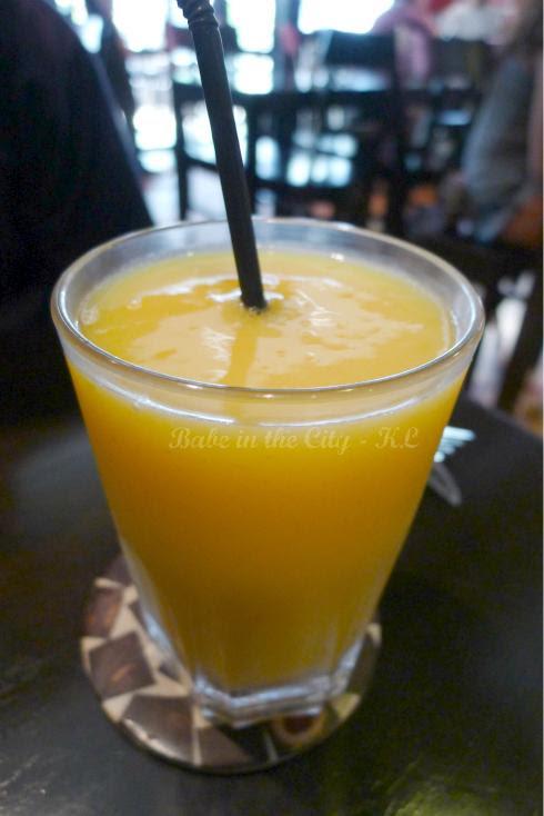 Fresh Mango Juice (RM9.00)