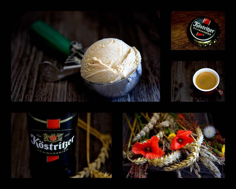 Kaffee-Schwarzbier-Eiscreme (Coffee Dark Beer Ice Cream)