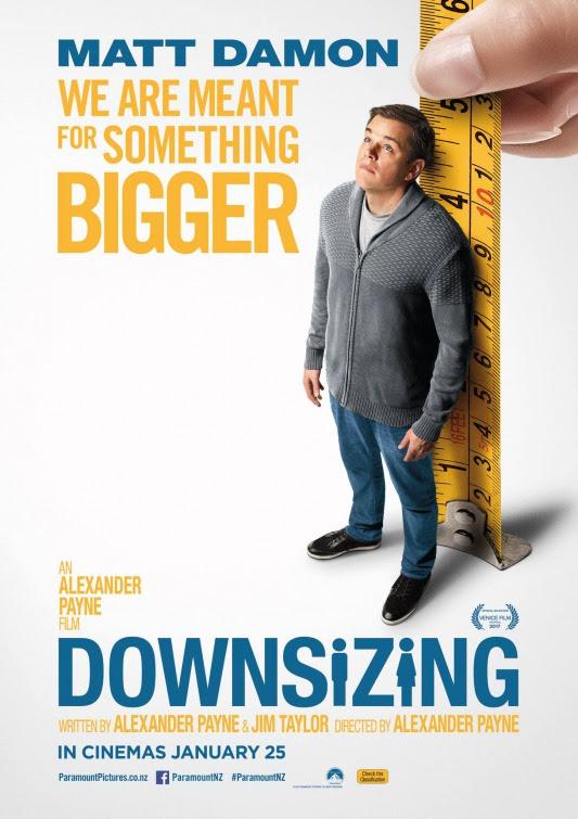 Resultado de imagem para movie poster Downsizing