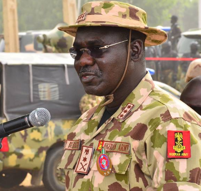 ''It was only a pronuncement,it wasn't a declaration per se that IPOB is a terrorist organization'' The Chief of Army Staff speaks to Nigerians.