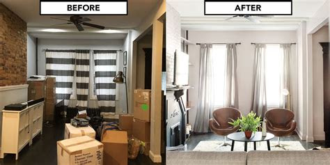 home makeover   brooklyn house living room design