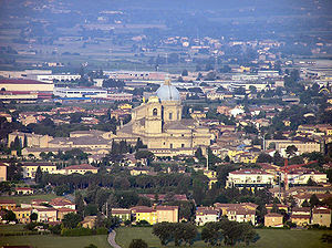Assisi, Santa Maria degli Angeli with Basilica