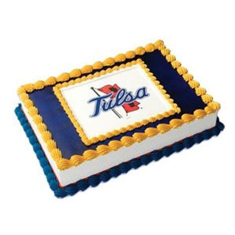 University of Tulsa Hurricanes Edible Image Cake Topper
