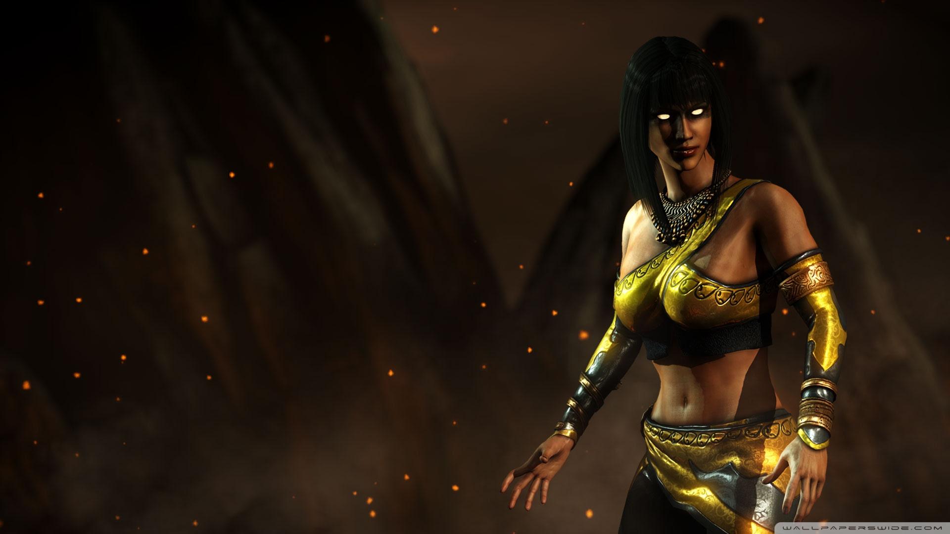 Mortal Kombat X Tanya Ultra Hd Desktop Background Wallpaper For 4k